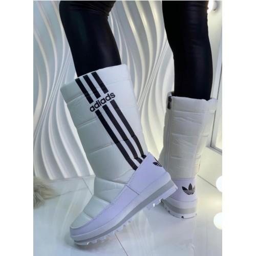Дутики зимние женские Adidas - арт.331645