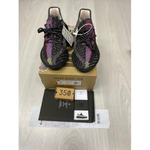 Кроссовки женские Adidas  yeezy boost 350 v2  - арт.333474