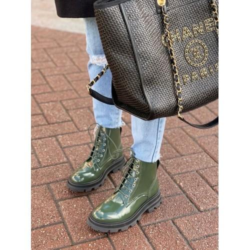 Ботинки  женские   Alexander McQueen - арт.145448