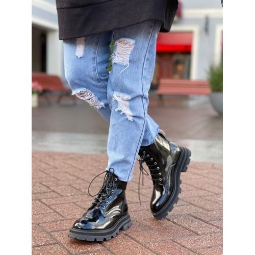 Ботинки  женские   Alexander McQueen - арт.145445