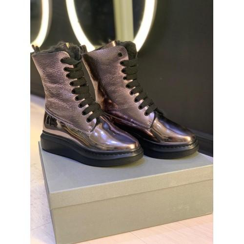 Ботинки зимние  женские   Alexander McQueen - арт.141715