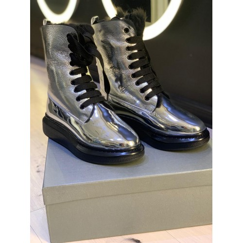 Ботинки зимние  женские   Alexander McQueen - арт.141717