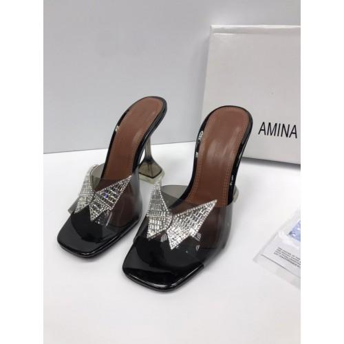 Сабо бабочка женские  Amina Muaddi - арт.563821