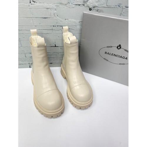 Ботинки  зимние женские Balenciaga - арт.241625