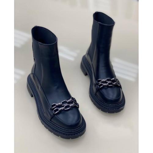 Ботинки с цепями женские Araz - арт.405170