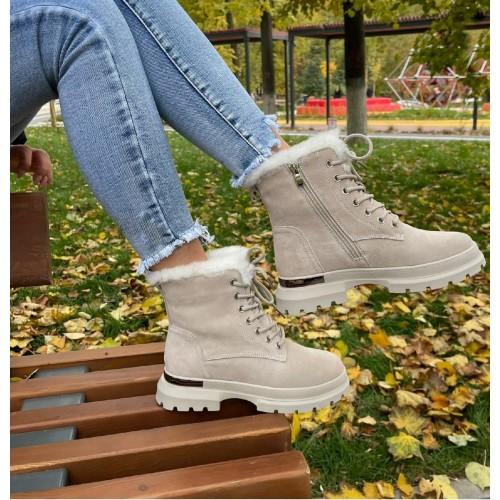Ботинки  зимние женские Araz - арт.405828