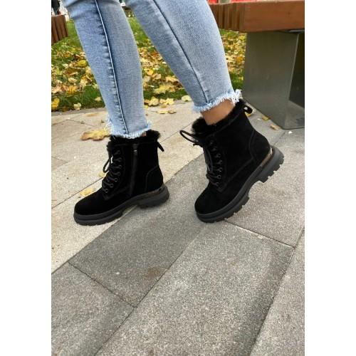 Ботинки  зимние женские Araz - арт.405826