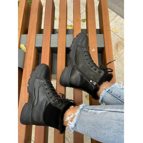 Ботинки  зимние женские Araz - арт.405824