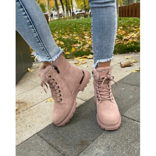 Ботинки  зимние женские Araz - арт.405827