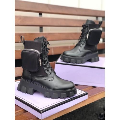 Ботинки с сумочкой зимние женские Araz - арт.405755