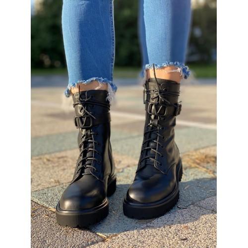 Ботинки  зимние женские  Valentino - арт.211621