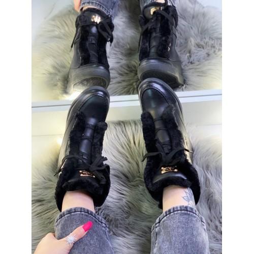 Ботинки зимние женские  Araz - арт.401498