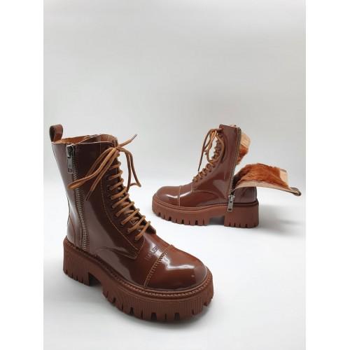 Ботинки женские зимние Balenciaga  - арт.211255