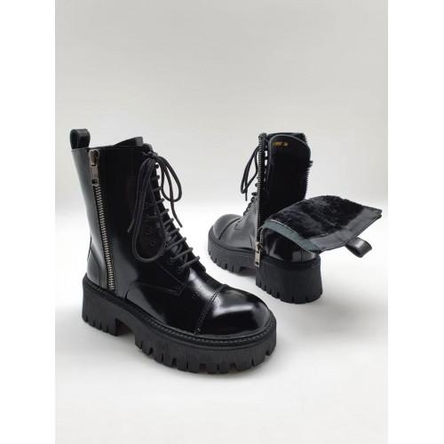 Ботинки женские зимние Balenciaga  - арт.241256