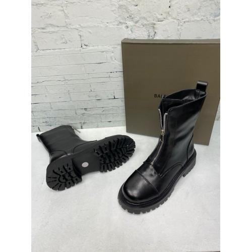 Ботинки женские зимние Balenciaga  - арт.241396
