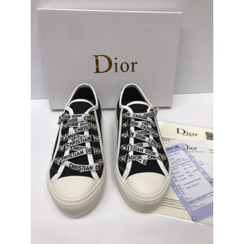 Кеды женские Dior  - арт.163787