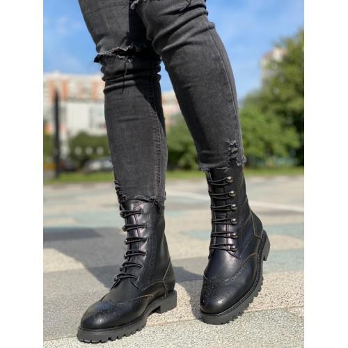Ботинки зимние женские Dior