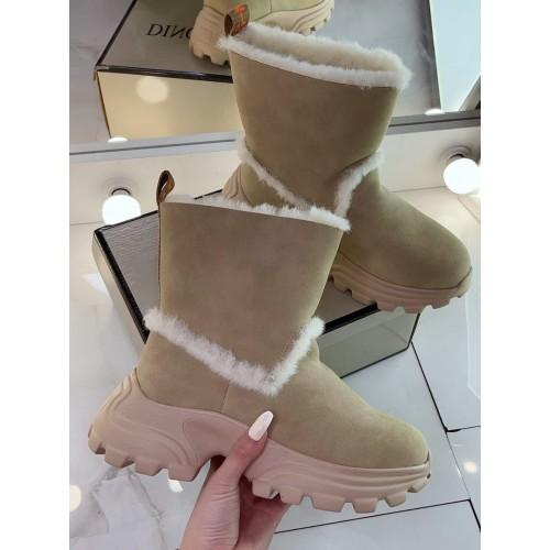Ботинки  зимние женские   Merge - арт.421680
