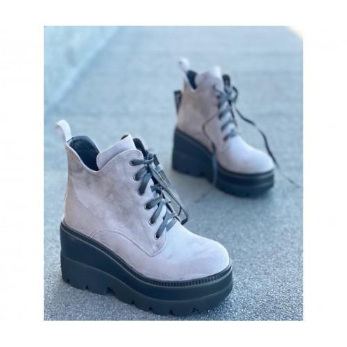 Ботинки женские на платформе Merge - арт.420654