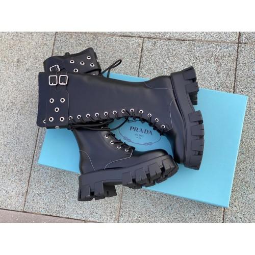 Ботинки женские Prada - арт.210664
