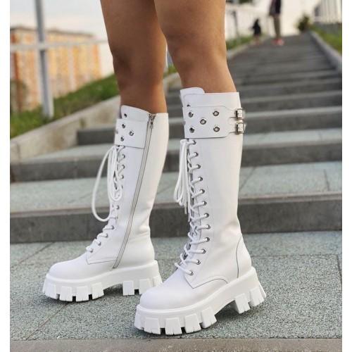Ботинки зимние женские Prada - арт.211403