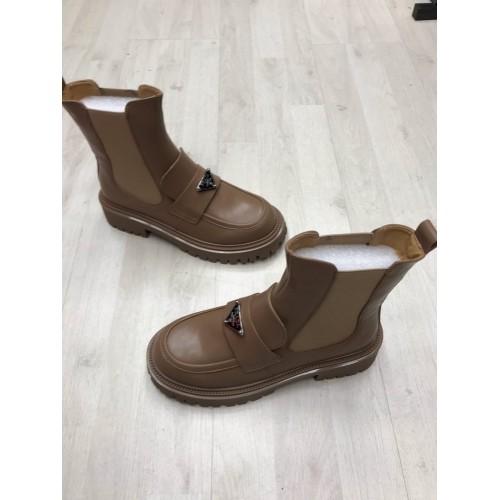 Ботинки зимние женские Prada - арт.211374