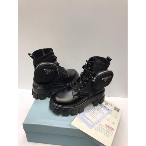 Ботинки зимние женские Prada - арт.211395