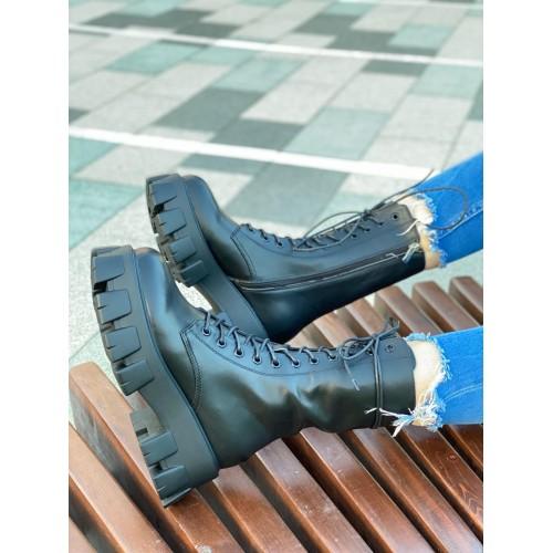 Ботинки  зимние женские Prada - арт.211620