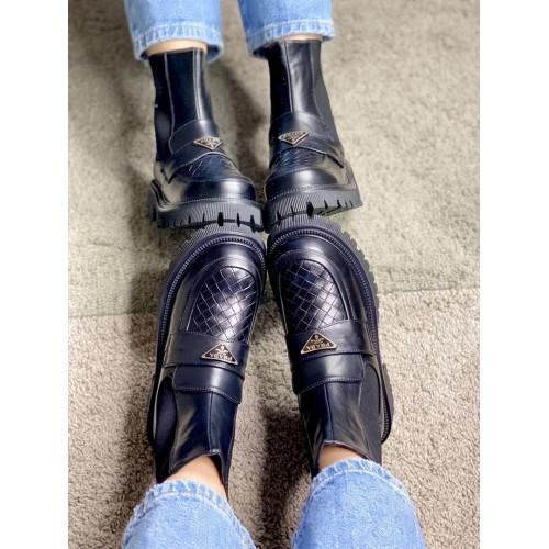 Ботинки зимние женские Prada - арт.211387