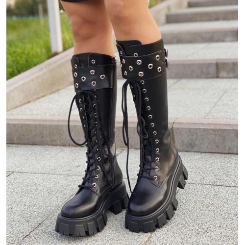 Ботинки зимние женские Prada