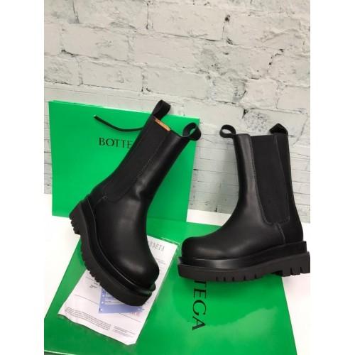 Ботинки зимние женские Bottega Veneta
