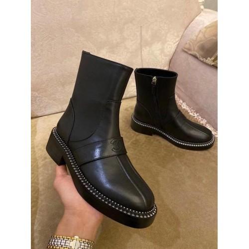 Ботинки женские Chanel - арт.541122