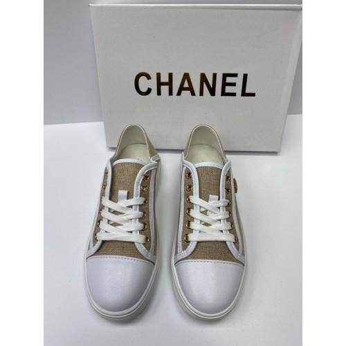 Кеды женские Chanel - арт.153549