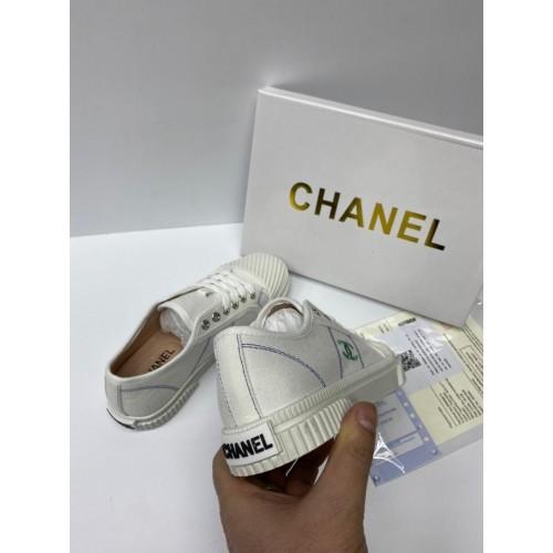 Кеды женские Chanel - арт.153748