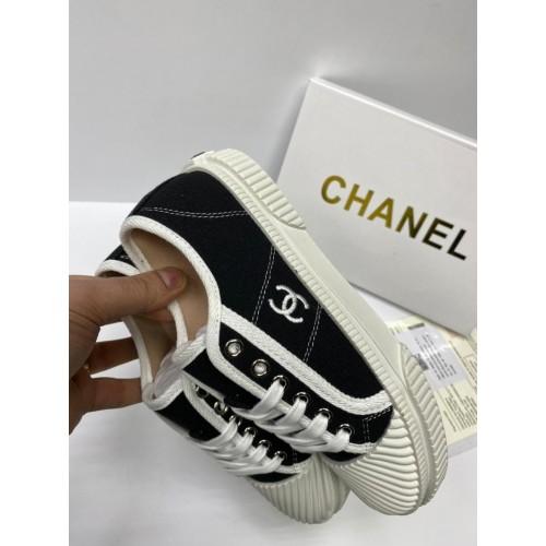 Кеды женские Chanel - арт.153749
