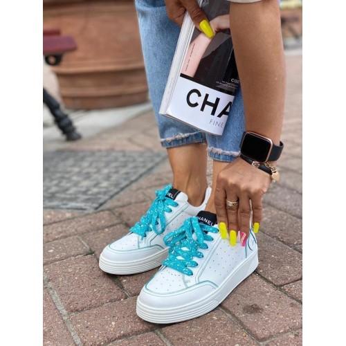 Кеды женские Chanel - арт.154507
