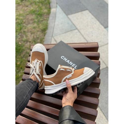 Кеды женские Chanel - арт.140709