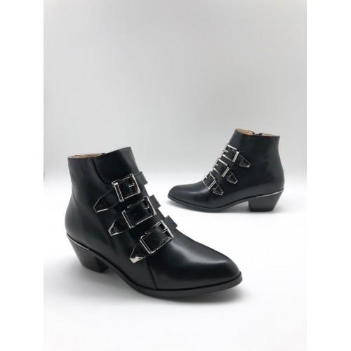 Женские ботинки казаки Chloé  - арт.480961