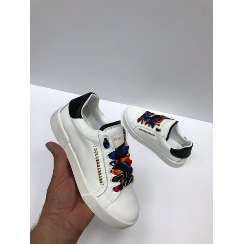 Кеды женские Dolce & Gabbana - арт.235204