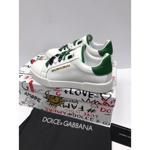 Кеды женские Dolce & Gabbana - арт.235203