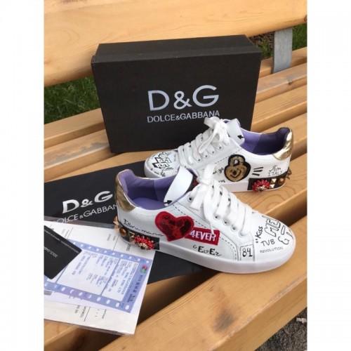 Кеды женские Dolce & Gabbana - арт.233962