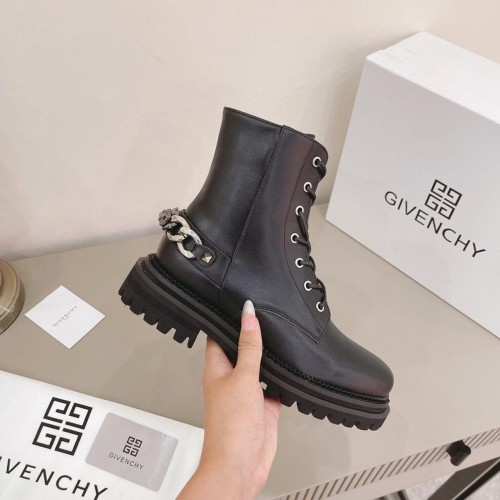 Ботинки  женские  Givenchy  - арт.455366
