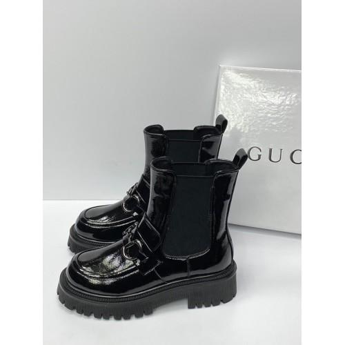 Ботинки зимние женские  Gucci - арт.201453