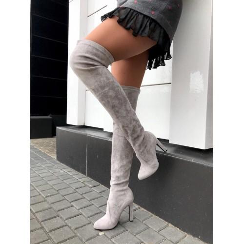 Ботфорты Yves Saint Laurent  - арт.241009