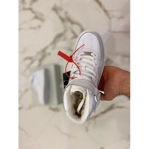 Кроссовки зимние мужские  Nike Air Force - арт.355821