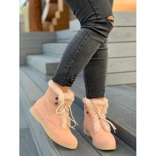 Ботинки зимние женские Loro Piana - арт.291032