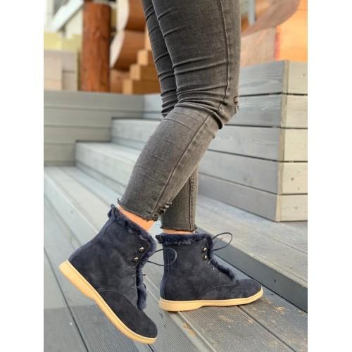 Ботинки зимние женские Loro Piana - арт.291031