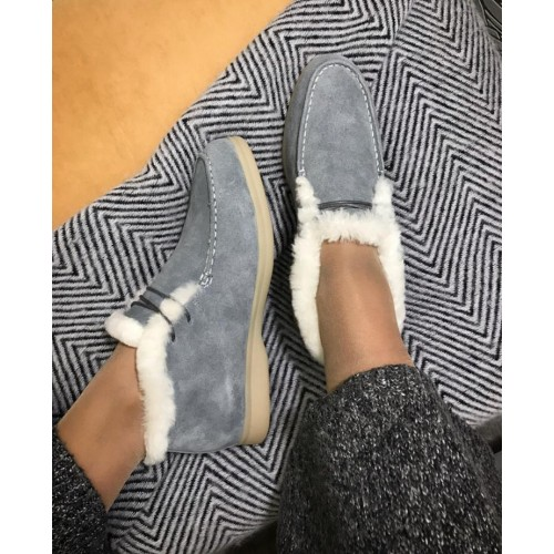 Ботинки зимние женские Loro Piana - арт.291050