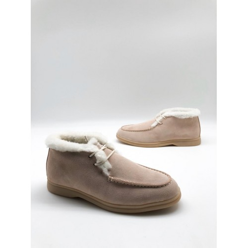Ботинки зимние женские Loro Piana - арт.291044