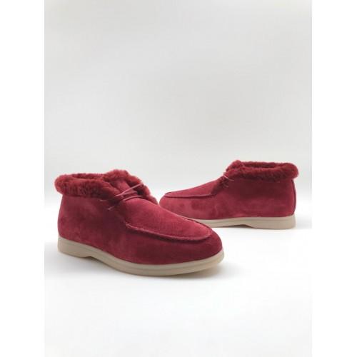 Ботинки зимние женские Loro Piana - арт.291049